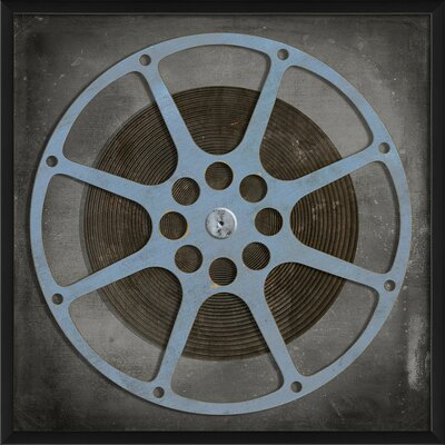 Film Reel Framed Graphic Art by The Artwork Factory