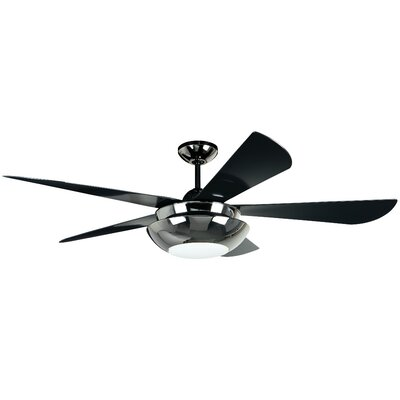"54"" Centric 5 Blade Ceiling Fan with Wall Control Product Photo"