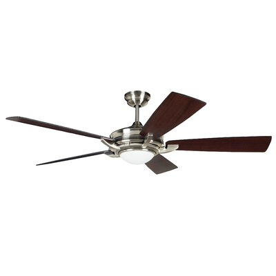 "56"" Orvus 5 Blade Ceiling Fan with Wall Remote Product Photo"