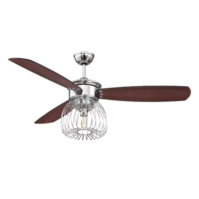 """54"""" Lark 3 Blade Ceiling Fan with Wall Remote Product Photo"""