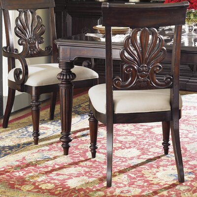 Island Traditions Chester Carved Side Chair by Tommy Bahama Home