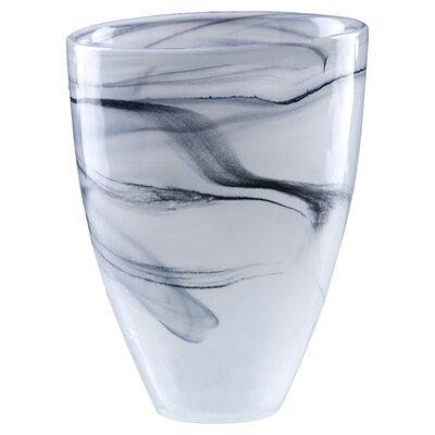 Polished Alabaster Vase by Shiraleah