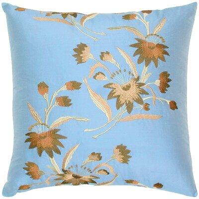 India's Heritage Dupioni Embed Silk Throw Pillow