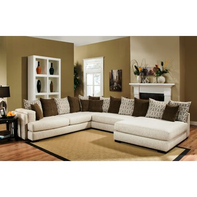 Katy Right Hand Facing Sectional by Chelsea Home