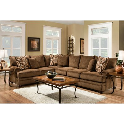 Ria Left Hand Facing Sectional by Chelsea Home