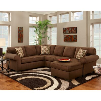 Adams Right Hand Facing Sectional by Chelsea Home