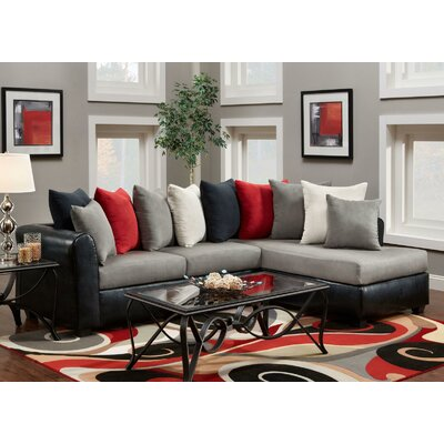 Corianne Right Hand Facing Sectional by Chelsea Home