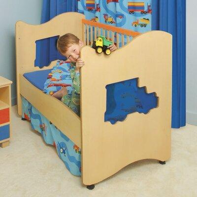 Boys Like Trucks Nursery Convertible Crib by Room Magic