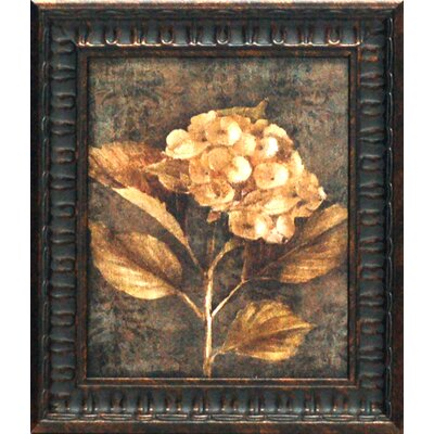 Artistic Reflections Antique Hydrangea I Framed Painting Print