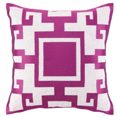 Sis Boom by Jennifer Paganelli Kara Embroidered Linen Throw Pillow