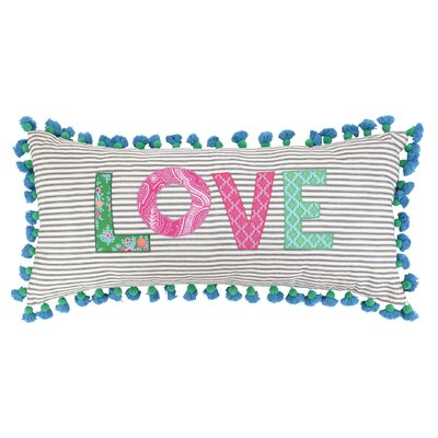 Love Linen Throw Pillow by Sis Boom by Jennifer Paganelli