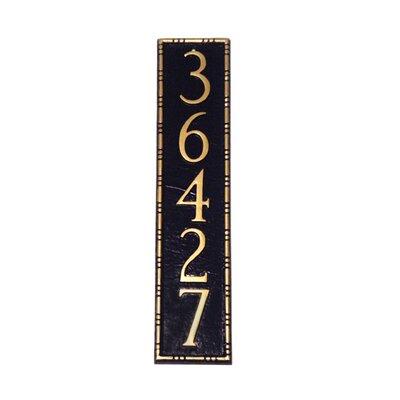 Montague Metal Products Inc. Lincoln Column Address Plaque