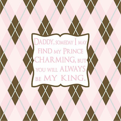 Forest Creations Daddy, Someday I May Find My Kids Canvas Art