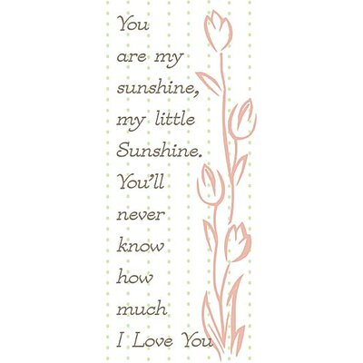 Forest Creations You Are My Sunshine Kids Canvas Art