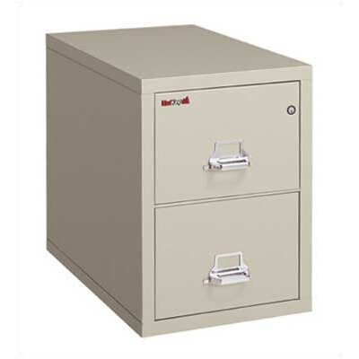 FireKing Fireproof 2-Drawer Vertical Legal File