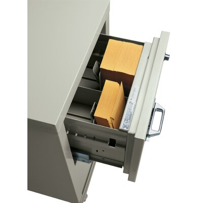 FireKing Full Depth Card Tray for Card, Check and Note File
