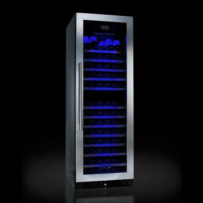 N'Finity 166 Bottle Dual Zone Built-In Wine Refrigerator by Jean Dubost