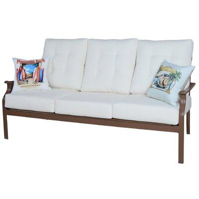 Island Breeze Deep Seating Sofa with Cushion by Panama Jack