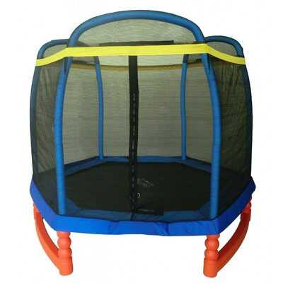 7' Super Trampoline Combo with Enclosure Product Photo