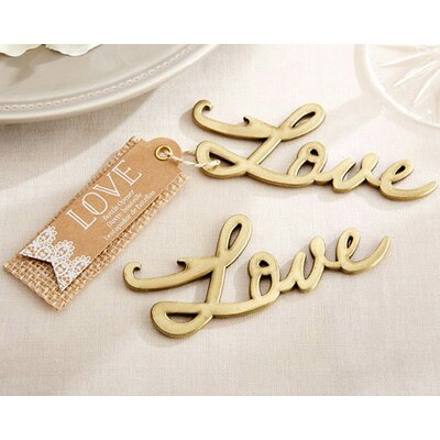 Love Bottle Opener by Kate Aspen