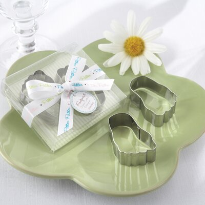 ''Pitter-Patter of Little Feet'' Baby Footprint Cookie Cutters by Kate Aspen