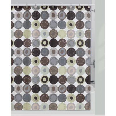 creative bath dot swirl cotton shower curtain reviews