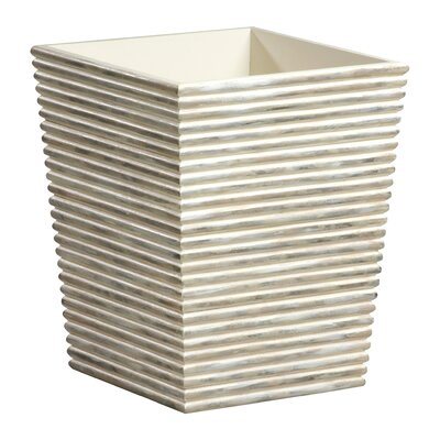 Creative Bath Dragonfly Wood Waste Basket