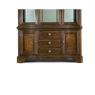 American Traditions Buffet in Distressed Rich Cordovan Mahogany by Legacy Classic Furniture
