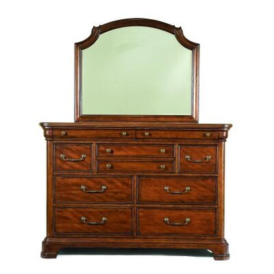 Evolution 10 Drawer Dresser with Mirror by Legacy Classic Furniture