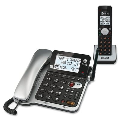 AT&T Dect 6.0 Corded/Cordless Telephone Answering System