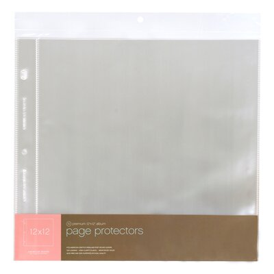 American Crafts Page Protectors
