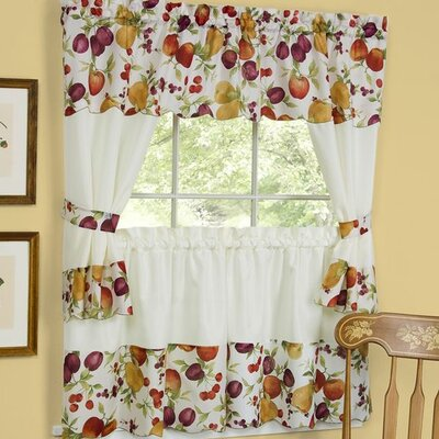 Chesapeake Embellished Cottage Curtains