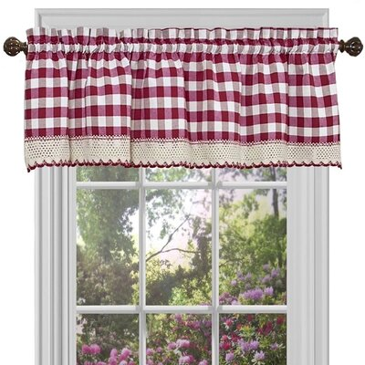 "Buffalo Check 58"" Curtain Valance Product Photo"