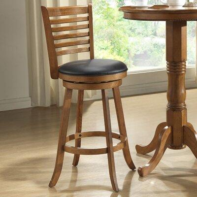 "ECI Furniture Rustic 29"" Swivel Bar Stool with Cushion"