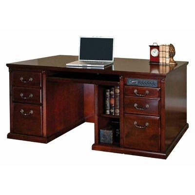 Huntington Club Executive Desk by kathy ireland Home by Martin Furniture