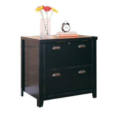 Tribeca Loft 2-Drawer Lateral File Cabinet by kathy ireland Home by Martin Furniture