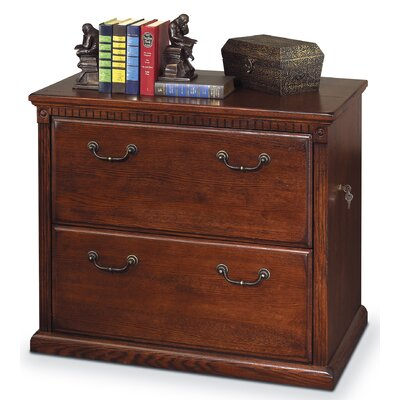 Huntington Oxford 2-Drawer Lateral File Cabinet by kathy ireland Home by Martin Furniture
