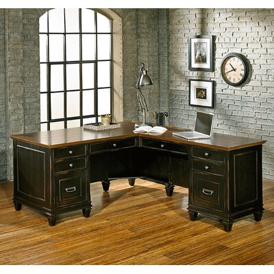 Hartford Executive Desk by kathy ireland Home by Martin Furniture