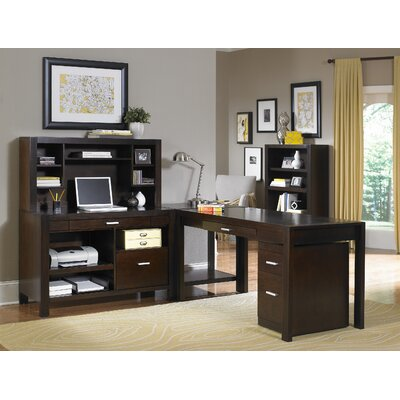 kathy ireland Home by Martin Furniture Carlton L-Shape Desk Office Suite