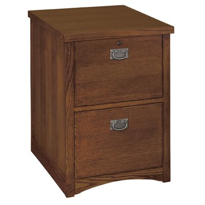 kathy ireland Home by Martin Furniture Mission Pasadena 2-Drawer Vertical File