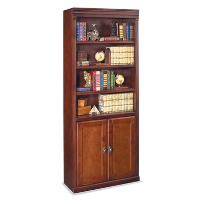 """kathy ireland Home by Martin Furniture Huntington Club Library 72"""" Standard Bookcase"""