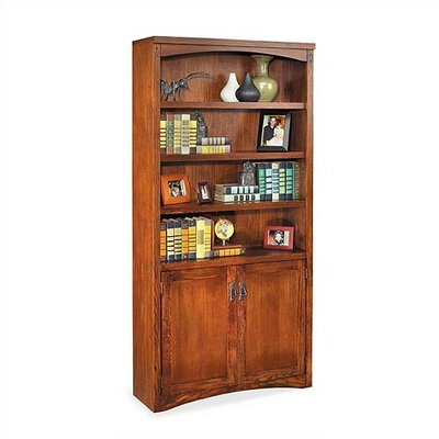 "kathy ireland Home by Martin Furniture Mission Pasadena 72"" Standard Bookcase"