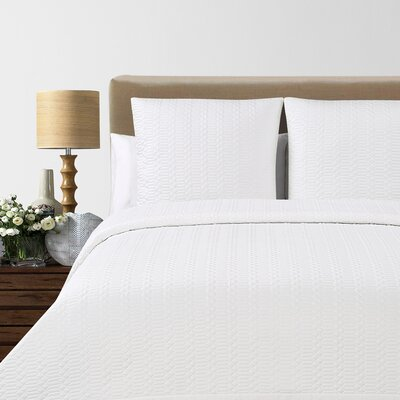 Laguna Quilted Cotton Blanket by Echelon Home