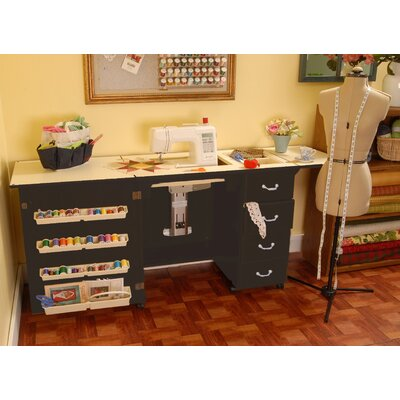 Norma Jean Wooden Sewing Table by Arrow Sewing Cabinets