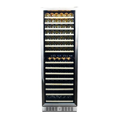 160 Bottle Dual Zone Built-In Wine Refrigerator by NewAir