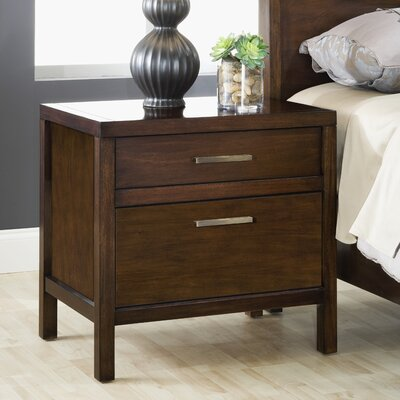 Uptown 2 Drawer Nightstand by Modus