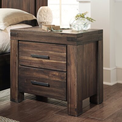 Meadow 2 Drawer Nightstand by Modus