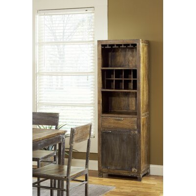 Modus Furniture Farmhouse Bar with Wine Storage