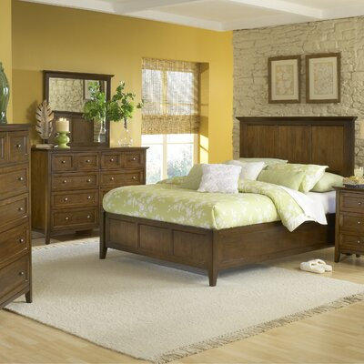 Paragon Panel Customizable Bedroom Set by Modus
