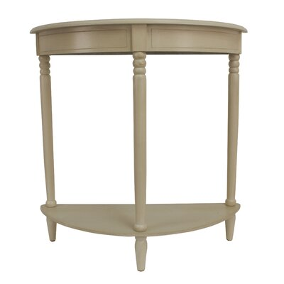 Simplicity Half Moon Console Table by J. Hunt Home